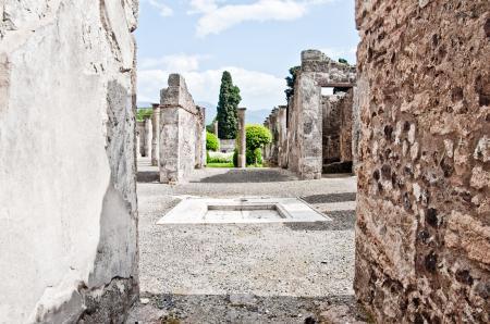 ancient Roman city of Pompeii
