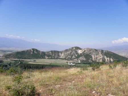 Ancient volcano Kozhuh