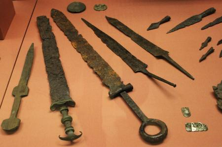 Ancient weapons