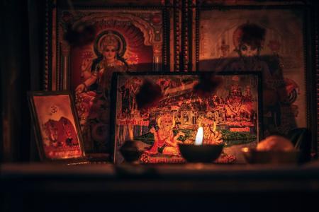 Assorted Hindu Gods Photography