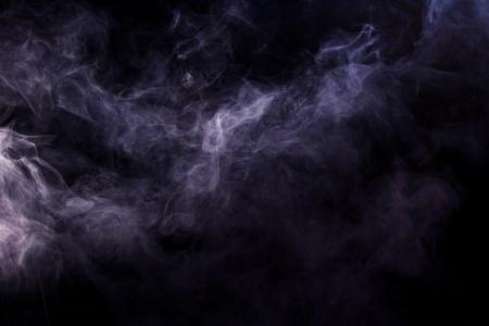 background of smoke