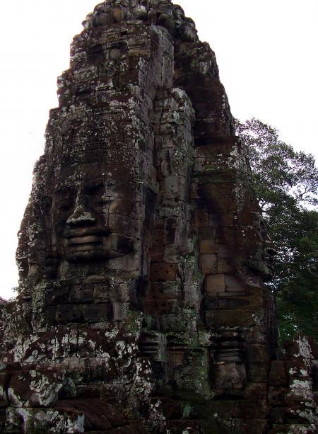 Bayon Temple Giant Faces - Cambodia