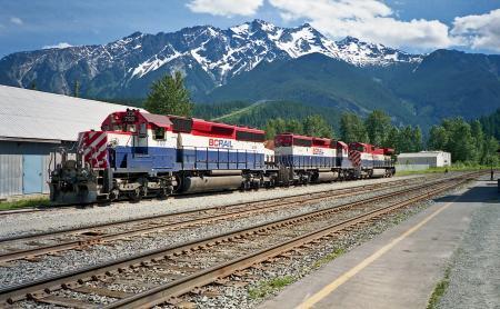 BC Railway Tracks