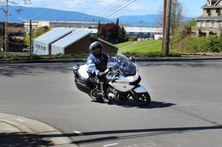 Bellingham, WA Police: Traffic Unit BMW Motorcycle
