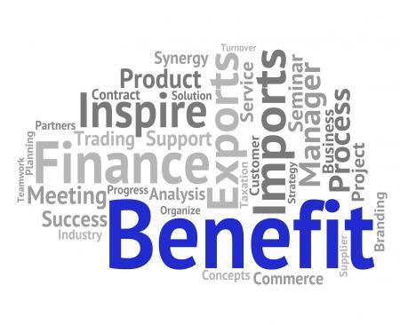 Benefit Word Indicates Words Reward And Award