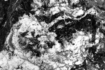 Black and white marble rock texture