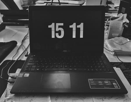 Black Asus Laptop