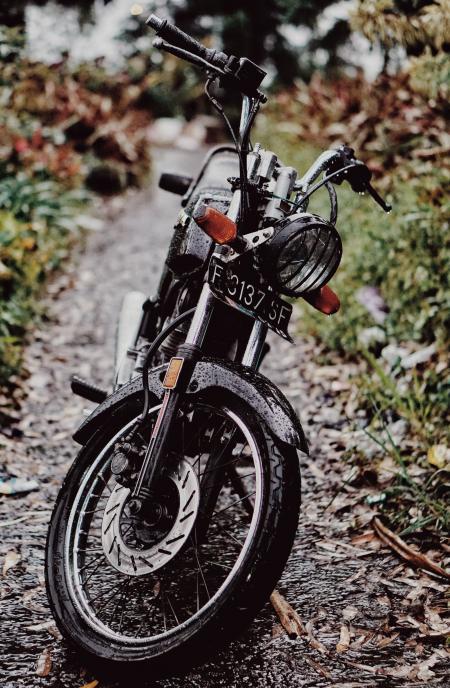 Black Fc317 Sf Motorcycle