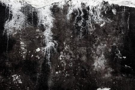 Black Grungy Wall Texture