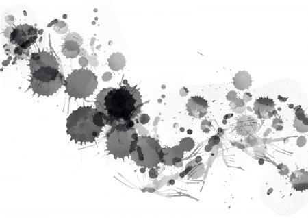 Black Paint Splats