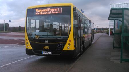 Blackpool Transport 525
