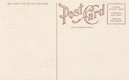 Blank Vintage Postcard - Circa 1910s
