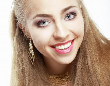 Blond model | face | emotions