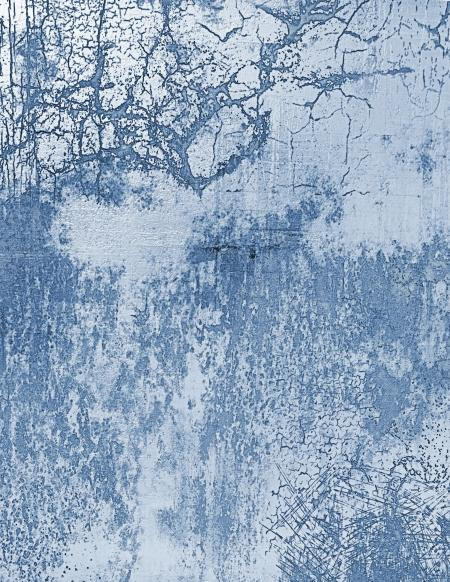 Blue Cracked Wall Texture
