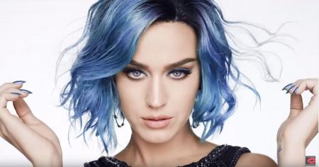 Blue Haired Female