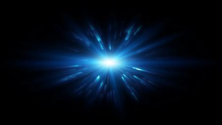 Blue Lens Flare