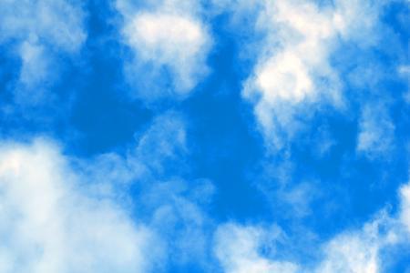 Blue sky - White clouds