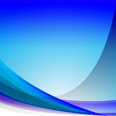 Blue Wave Background Means Soft Effect Wallpaper Or Modern Art