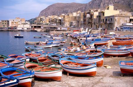 Boat in Sicily