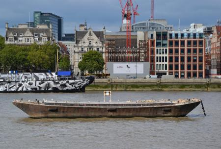 Boat in the River Thames