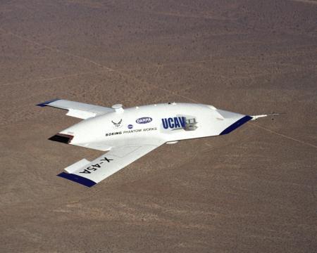 Boeing X 45A