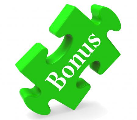 Bonus On Puzzle Shows Reward Or Perk Online