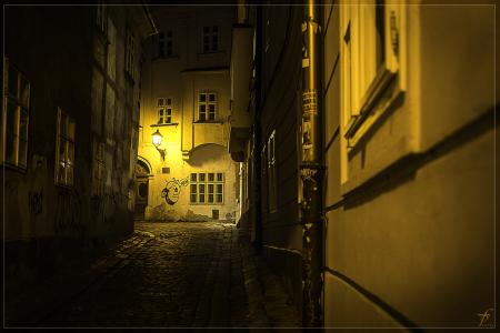 Bratislava from day to night