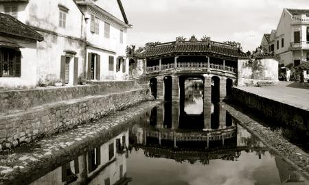 Bridge in old town