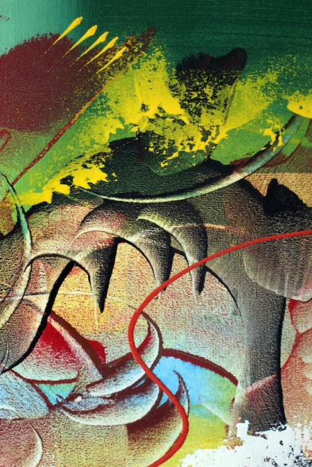 Bright Abstract Art Texture