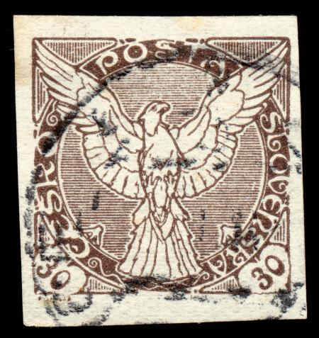 Brown Falcon Stamp