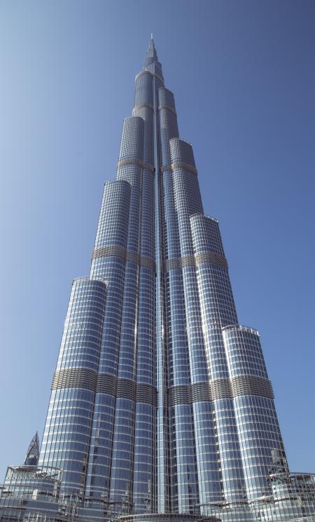 Burj Khalifa skyscraper in Dubai
