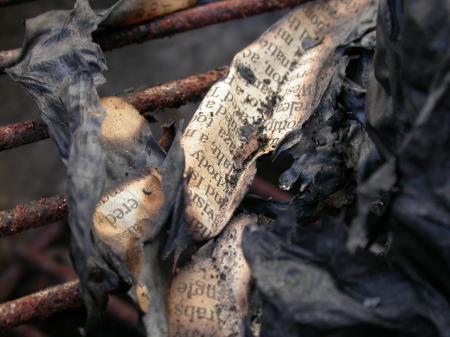 Burned Paper Texture
