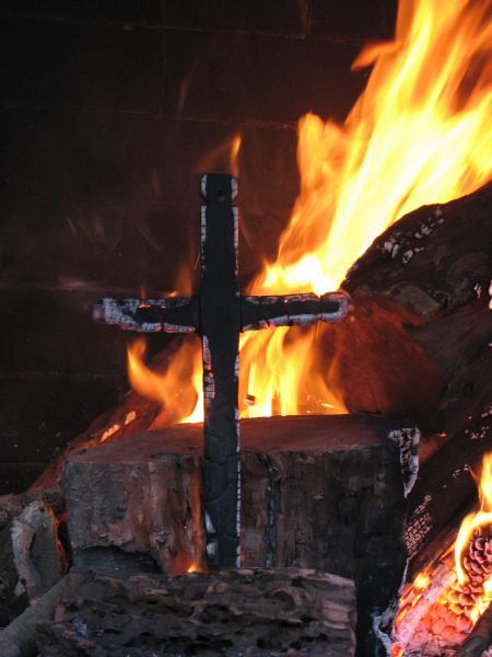 Burning Cross