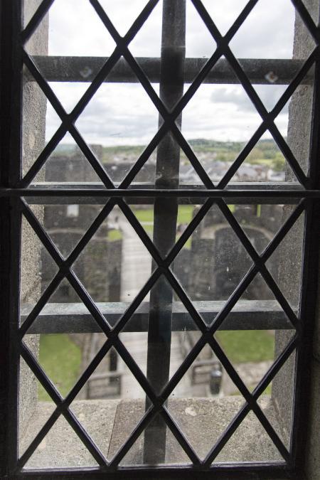 Caerphilly Castle Window