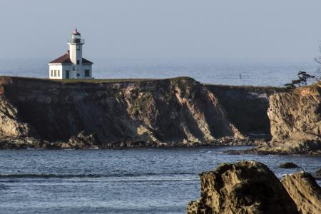 Cape Arago State Park, Oregon, Lighthouse