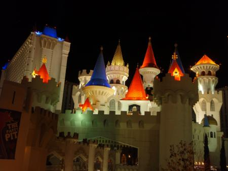Castle in Las Vegas