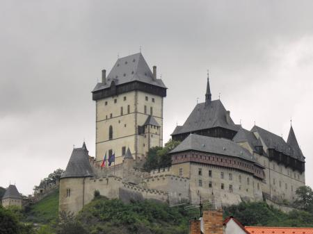 Castle-Karlstein near Prague