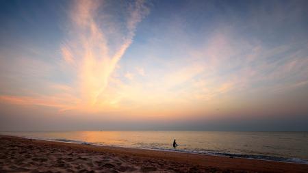 Cha Am Beach Sunrise, Thailand