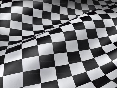 Checkered Grunge Flag