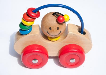 childrens wooden toy car