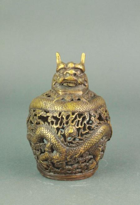 Chinese Bronze Dragon