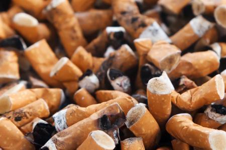 Cigarettes butt