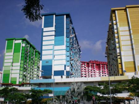 Cingapura buildings