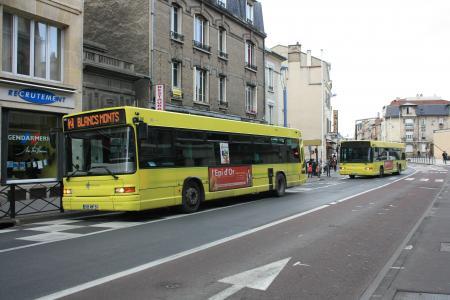 Citura - Heuliez Bus GX317 n°256 - Ligne 2 & 253