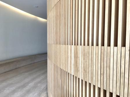 Close-up of Wooden Walls