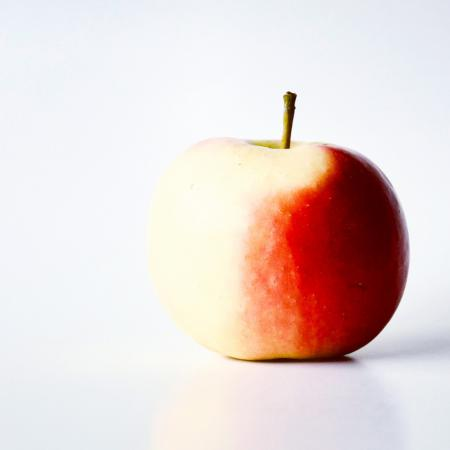 Close-Up Photo Of Apple