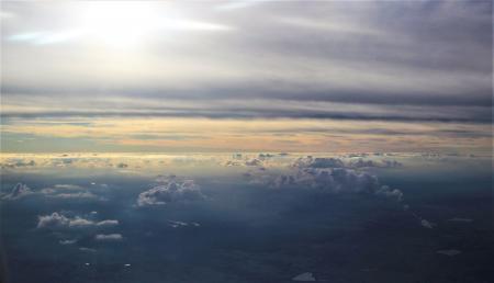 Clouds from Airliner