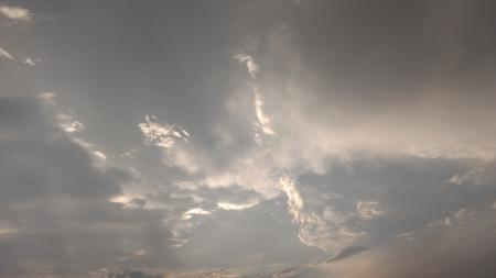 Clouds over India