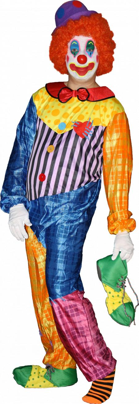 Clown Cutout