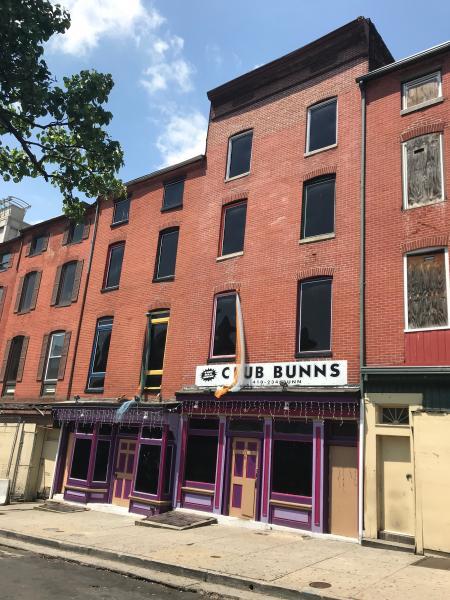 Club Bunns, 608 W. Lexington Street, Baltimore, MD 21201
